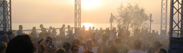 brandend zand festival