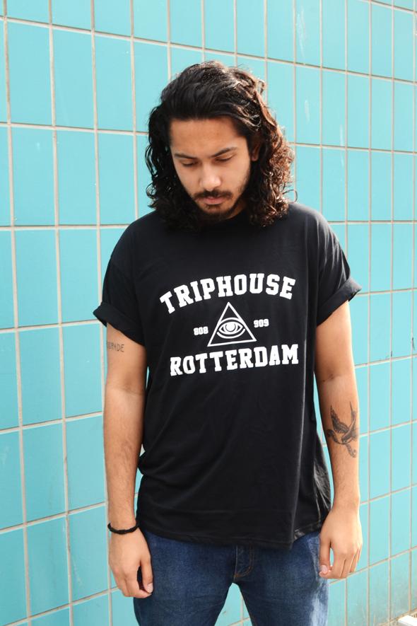 zwart triphouse tshirt